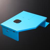 外装カバー SPCC  t1.6(焼付紛体塗装)